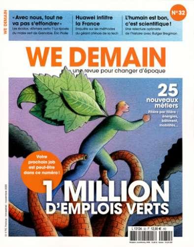 1 million d'emplois verts : 25 nouveaux métiers, filière par filière : énergies, bâtiment, mobilités...   Siegel, François (1949-....) - Directeur de publication