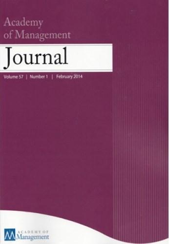 Academy ofManagement journal |