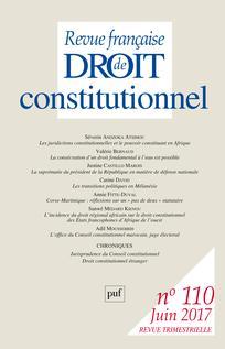 Revue française de droit constitutionnel |